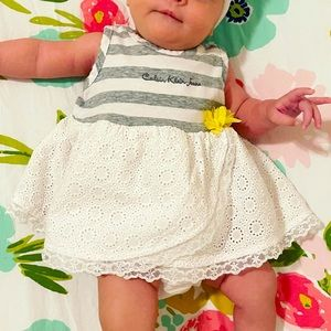 Calvin Klein Jeans Baby Girl's 3-6 month dress